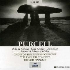 Trevor Pinnock (Тревор Пиннок): Purcell: Dido & Aeneas / King Arthur / Dioclesian