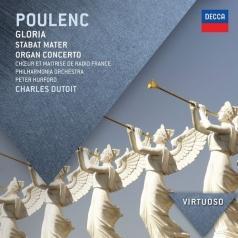 Charles Dutoit (Шарль Дютуа): Poulenc: Gloria; Stabat Mater; Organ Concerto