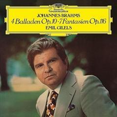 Emil Gilels (Эмиль Гилельс): Brahms: 4 Ballades, 7 Fantasias