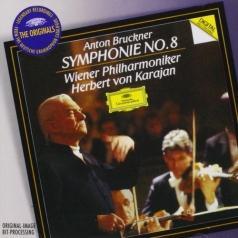 Herbert von Karajan (Герберт фон Караян): Bruckner: Symphony 8 (Original Masters)