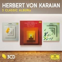 Herbert von Karajan (Герберт фон Караян): 3 Classic Albums: Schoenberg, Berg, Webern