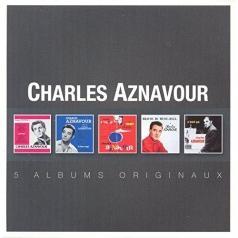 Charles Aznavour (Шарль Азнавур): Original Album Series