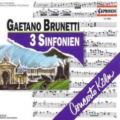 Concerto Koln (Cok) (Концерт Кельнский (Cok)): Brunetti: Sinfonien 22,26+36