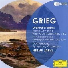 Neeme Järvi (Неэме Ярви): Grieg: Piano Concerto/ Peer Gynt Suites, Nos.1 & 2