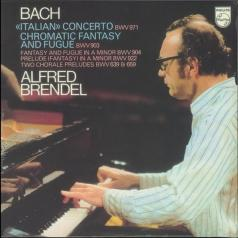 Alfred Brendel (Альфред Брендель): Bach: Italian Concerto; Chromatic Fantasy & Fugue