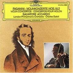 Salvatore Accardo (Сальваторе Аккардо): Paganini: Violin Concertos Nos.1 & 2