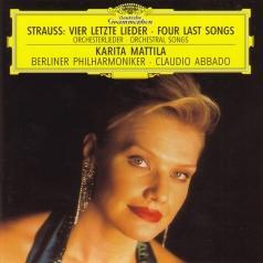 Claudio Abbado (Клаудио Аббадо): R. Strauss: Vier letzte Lieder / Orchesterlieder