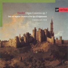 Bob Van Asperen (Боб ван Асперен): Handel: Organ Concertos Op.7