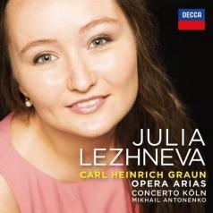 Julia Lezhneva (Юлия Лежнева): Graun Arias