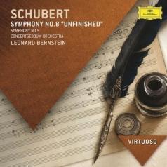 Leonard Bernstein (Леонард Бернстайн): Schubert: Symphonies Nos.5 & 8