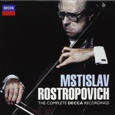 Mstislav Rostropovich (Мстислав Ростропович): The Complete Decca Recordings