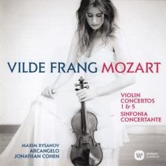 Vilde Frang (Вильде Франг): Violin Concertos  Nos. 1 & 5. Sinfonia Concertante For Violin, Viola & Orchestra, K364