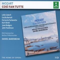 Daniel Barenboim (Даниэль Баренбойм): Mozart: Cosi Fan Tutte