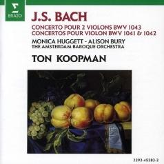 Ton Koopman (Тон Копман): Concertos - For 2 Violins In D Minor; For Violin In E Major & A Minorur 2 Violons Bwv1043, 1 Bwv1041/ 1042