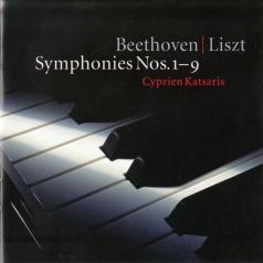 Cyprien Katsaris (Сиприан Кацарис): Beethoven / Arr Liszt: Symphonies Nos 1 - 9
