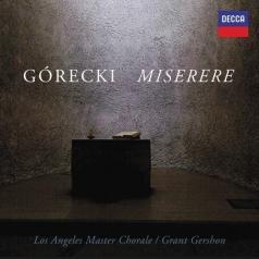 Los Angeles Master Chorale (Лос-Анджелес Мастер Хорал): Gorecki: Miserere