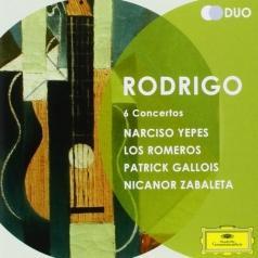 Los Romeros (Лос Ромерос): Rodrigo: 6 Concertos