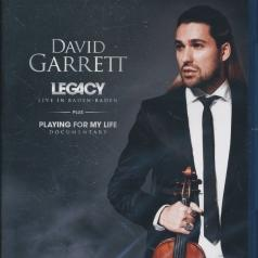 David Garrett (Дэвид Гарретт): Legacy - Live From Baden Baden + Playing For My Life Documentary