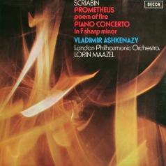 Vladimir Ashkenazy (Владимир Ашкенази): Scriabin: Piano Concerto; Prometheus