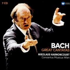 Nikolaus Harnoncourt (Николаус Арнонкур): Great Cantatas