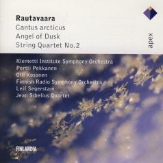 Einojuhani Rautavaara (Эйноюхани Раутаваара): Cantus Arcticus; Angel Of Dusk; String Quartet No.2