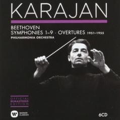 Herbert von Karajan (Герберт фон Караян): Symphonies & Overtures (1951-1955)