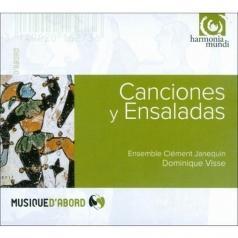 Canciones & Enseladas: Chansons Et Danses De La Renaissance Espagnole/Ensemble Clement Janequin, Dir. D. Visse