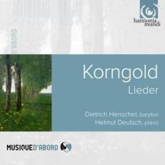 Dietrich Henschel (Дитрих Хеншель): Korngold Erich: Lieder/Dietrich Henschel; Helmut Deutsch