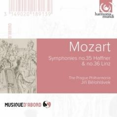 "Prague Philharmonia: Mozart W.A./Symphonies No 35 ""Haffner"" & 36/The Prague Philharmonia/Dir. J. Belohlavek"