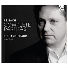 Bach / Partitas Bwv825-30/R. Egarr