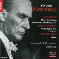 Leningrad Philharmonic Orchestra (Ленинградский Оркестр): Mravinsky/Bartok, Honegger, Stravinsky