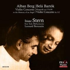 Isaac Stern (Исаак Стерн): Berg/Bartok : Violin Concertos/Isaac Stern; New York Philharmonic Orchestra/Leonard Bernstein