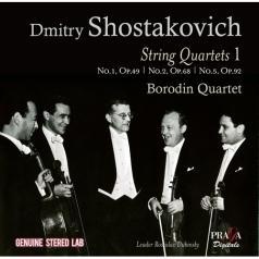 Borodin Quartet (Квартет имени Бородина): Shostakovich / String Quartets Ii: 4, 6 & 9/Quatuor Borodine