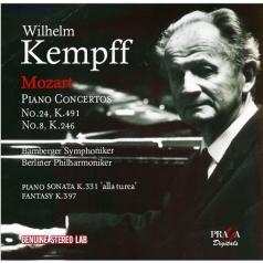 Wilhelm Kempff (Вильгельм Кемпф): Mozart: Piano Concertos No. 8 & 24/Wilhelm Kempff & Bamberg Symphoniker Berlin Philharmonic Orchestra, Ferdinand Leitner