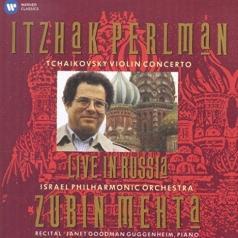 Itzhak Perlman (Ицхак Перлман): Live In Russia: Tchaikovsky Concerto - Israel Philharmonic Orchestra / Mehta - Recital
