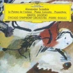 Pierre Boulez (Пьер Булез): Scriabin: Le Poeme de l'extase; Piano Concerto