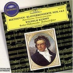 Wilhelm Kempff: Beethoven: Piano Concertos Nos.4 & 5