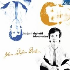 organ Benjamin Righetti: Bach J.S./Triosonaten/Benjamin Righetti