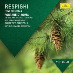 Giuseppe Sinopoli (Джузеппе Синополи): Respighi: Pini Di Roma; Fontane Di Roma; Gli Uccelli