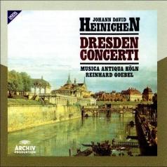 Reinhard Goebel (Рейнхард Гёбель): Heinichen: Dresden Concerti
