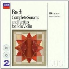 Arthur Gramiaux (Артюр Грюмьо): Bach: Complete Sonatas And Partitas