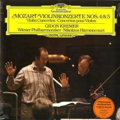 Gidon Kremer (Гидон Кремер): Mozart: Violin Concertos Nos. 4 & 5