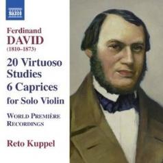 Reto Kuppel (Рето Куппел): 20 Caprices For Solo Violin, Op. 70; 6 Caprices For Solo Violin, Op. 9