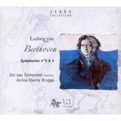 Beethoven L.V./Symphonies No 4 & 5/Anima Eterna/Jos Van Immerseel
