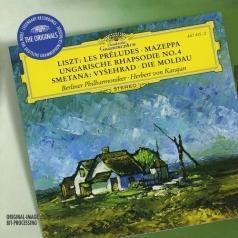Herbert von Karajan (Герберт фон Караян): Liszt: Les Preludes, Smetana: Moldau