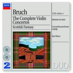 Salvatore Accardo (Сальваторе Аккардо): Bruch: The Complete Violin Concertos