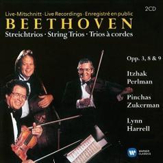 Itzhak Perlman (Ицхак Перлман): Complete String Trios - Itzhak Perlman, Pinchas Zukerman, Lynn Harrell