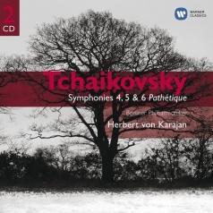 Herbert von Karajan (Герберт фон Караян): Symphonies 4, 5 & 6