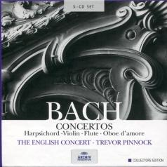The English Concert: J.S. Bach: Concertos for solo instruments