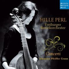Hille Perl (Хилле Перл): Telemann/Pfeiffer/Graun: Concerti
